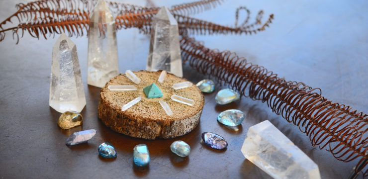 Manifesting and Raising Vibrations with Crystal Grids